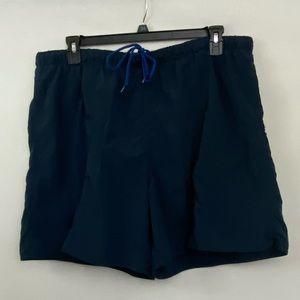 Men's Islander Blue Swim Trunks Size XL R-32